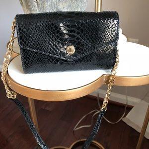 Authentic MK black hand bag